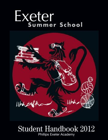 Exeter 2007 Text v5 - Phillips Exeter Academy