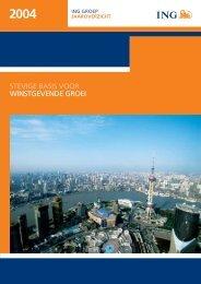 ING Groep Jaaroverzicht 2004 - Jaarverslag.com