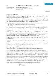 Mobilitetsplaner for virksomheder – 2 eksempler - Trafikdage.dk