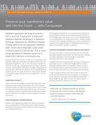 Preserve your mainframe's value well into the future … with ...