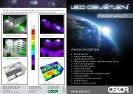 Katalog LED OSVĚTLENÍ OBZOR - OBZOR, výrobní družstvo Zlín