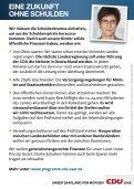 """UNSER SA ARL AND VON MORGEN. """"ICH  WILL ... - CDU Saar - Page 2"""