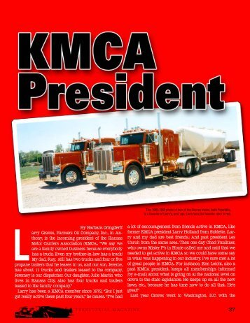 KMCA & Antique Trucks - Territorial Magazine