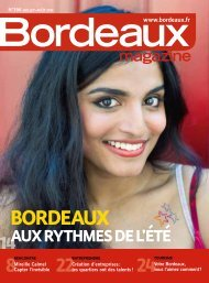 Bordeaux Magazine. N°396 Juillet Août 2012
