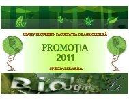 Biologie-ZI 2011 - album foto.pdf - Facultatea de Agricultură