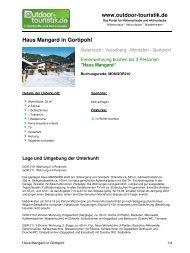 Ferienwohnung für 3 Personen in Gortipohl - Outdoor-Touristik
