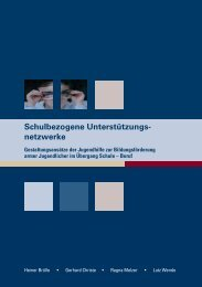 Schulbezogene Unterstützungsnetzwerke - Institut für Sozialarbeit ...