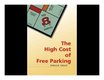 A Progress Report on Urban Parking Reforms Donald Shoup ...