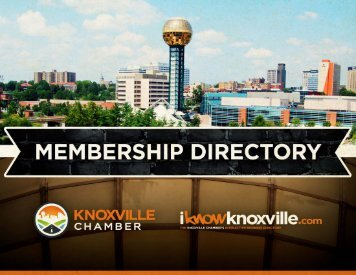 Business & Professional Services - Knoxville Chamber of Commerce