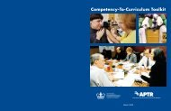 Competency-To-Curriculum Toolkit - ASPH