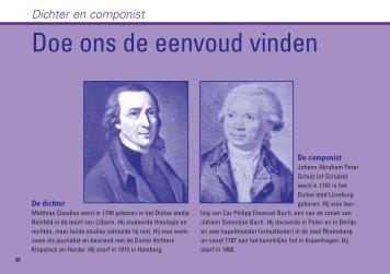 Dichter en componist - Kerk in Actie