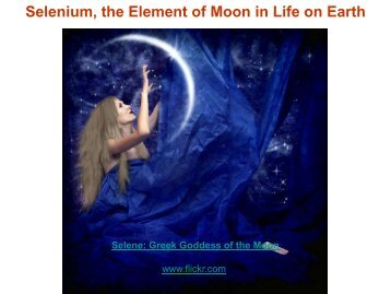 Title : Selenium, the Element of Moon in Life on Earth - IRCC