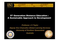 5th Generation Distance Education - Tokyo Development Learning ...