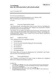 Verordnung vom 22. November 1972 über die Schweizerische ...