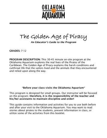 The Golden Age of Piracy - Oklahoma Aquarium