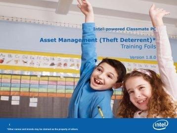 Asset Management (Theft Deterrent) - RM.com