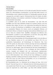 Christian Mürner Menschenbilder Grundlegende ... - Inklusion Lexikon