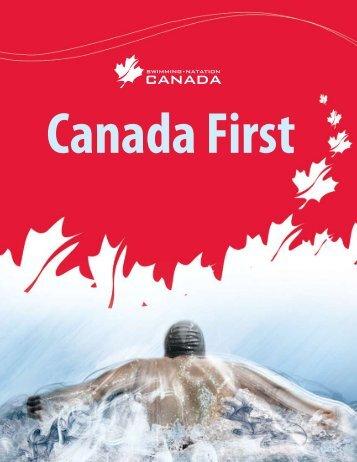 Canada First - Swimming Canada