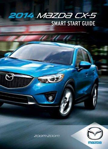 2014 CX-5 Smart Start Guide - Mazda