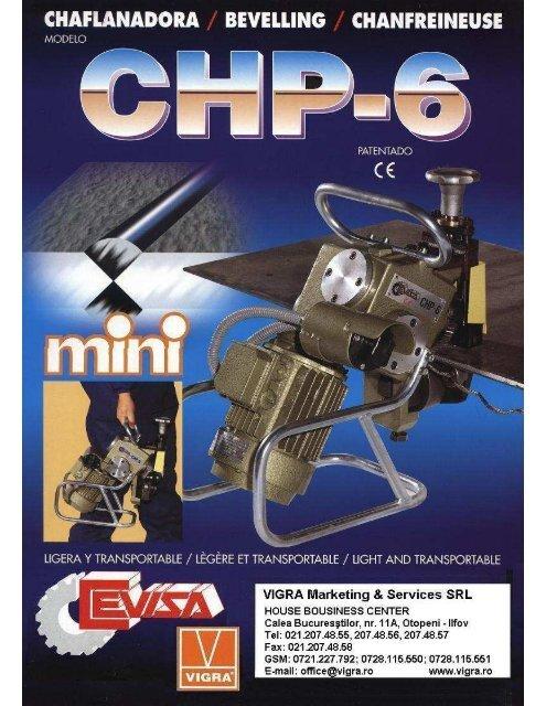 Cevisa CHP-6 - VIGRA MARKETING & SERVICES