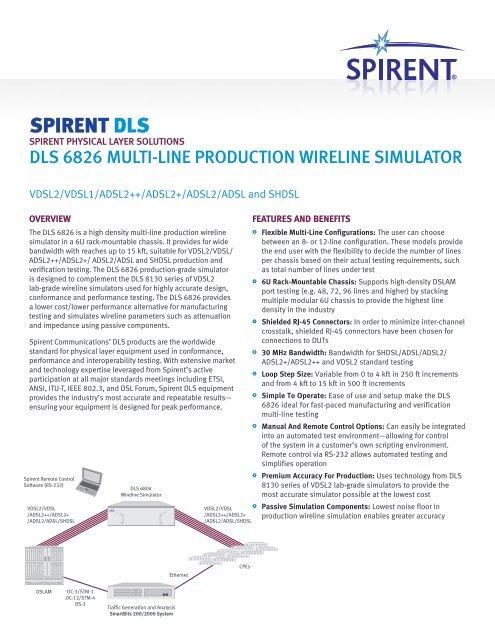 DLS-6826 MultiLine Production Wireline Simulator
