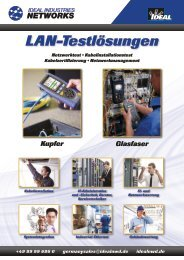 LAN-Testlösungen - Ideal Industries