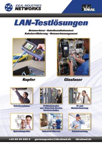 LAN-Testlösungen - Ideal Industries