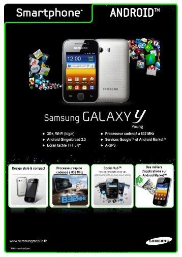 Processeur cadencé à 832 MHz Android Gingerbread 2.3 ... - Prixtel