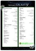 Processeur cadencé à 832 MHz Android Gingerbread 2.3 ... - Prixtel - Page 2