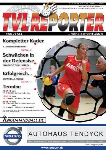 Ausgabe 02/2010 - TV Lobberich