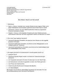Max Weber: Macht und Herrschaft - Udo Ehrich
