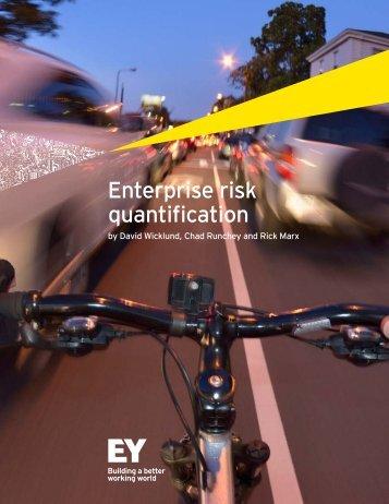 Enterprise risk quantification