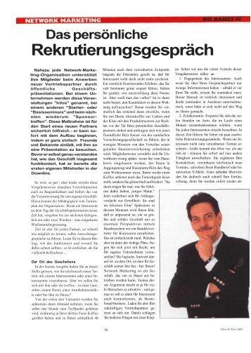 Rekrutierungsgespräch - Kiesels.Info