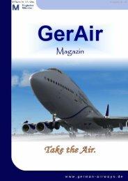 Gerair-Magazin Nr.65 - German Airways