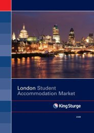 London Student Accommodation Market - The Mansion Group