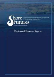 Preferred Futures Report - Waikato Regional Council