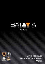 Outils électriques Dans et atour de la maison Atelier - Batavia GmbH