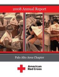Palo Alto - Annual Report 2008 - American Red Cross