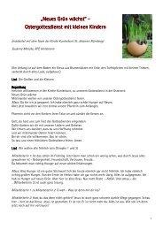 Neues Grün wächst - RPZ Heilsbronn
