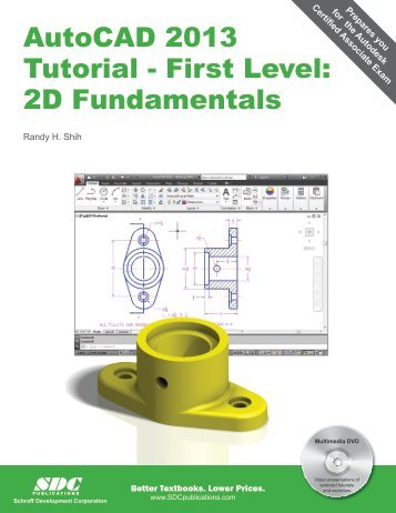 AutoCAD 2013 Tutorial - First Level: 2D ... - SDC Publications