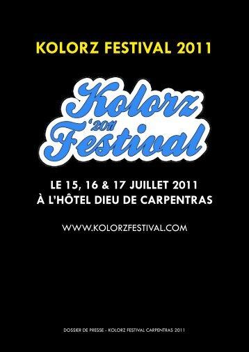 KOLORZ FESTIVAL 2011 - Vaucluse