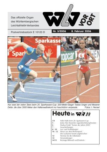 Ausgabe 03 - Württembergischer Leichtathletikverband