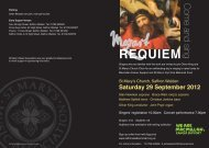 REQUIEM - St Mary's Church, Saffron Walden