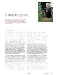 Brigitta Ammann – Sie ist tief in Bern verwurzelt - Universität Bern
