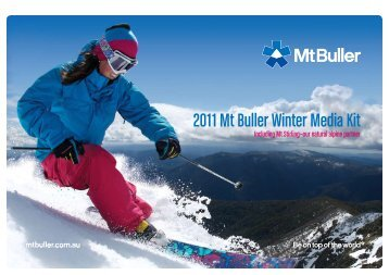 2011 Mt Buller Winter Media Kit