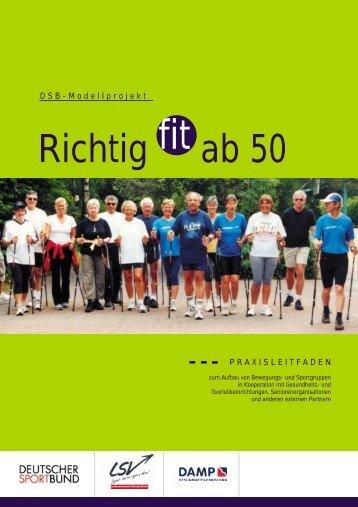 Praxisleitfaden - Richtig Fit ab 50