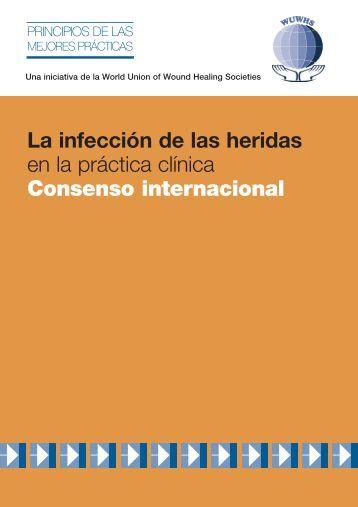 La infección de las heridas - Wounds International