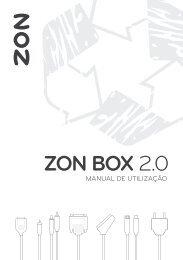 Manual ZON BOX 2.0 HD+DVR