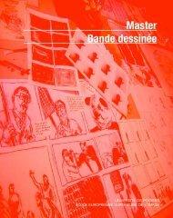 Master Bande dessinée - École européenne supérieure de l'image