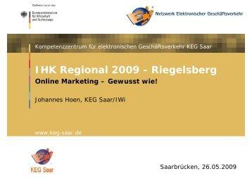 Online-Marketing - KEG Saar